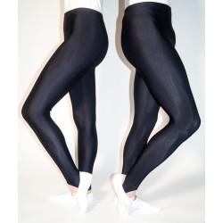 Black Leggings with stirrup